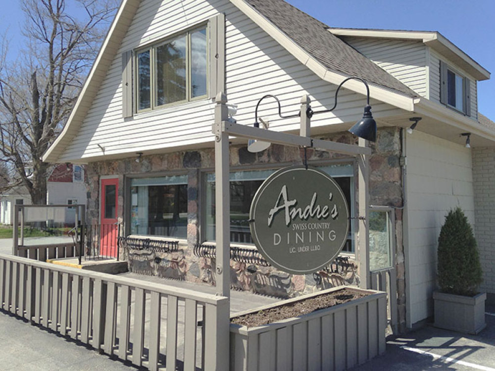 Andre's, located on Goderich Street in Port Elgin
