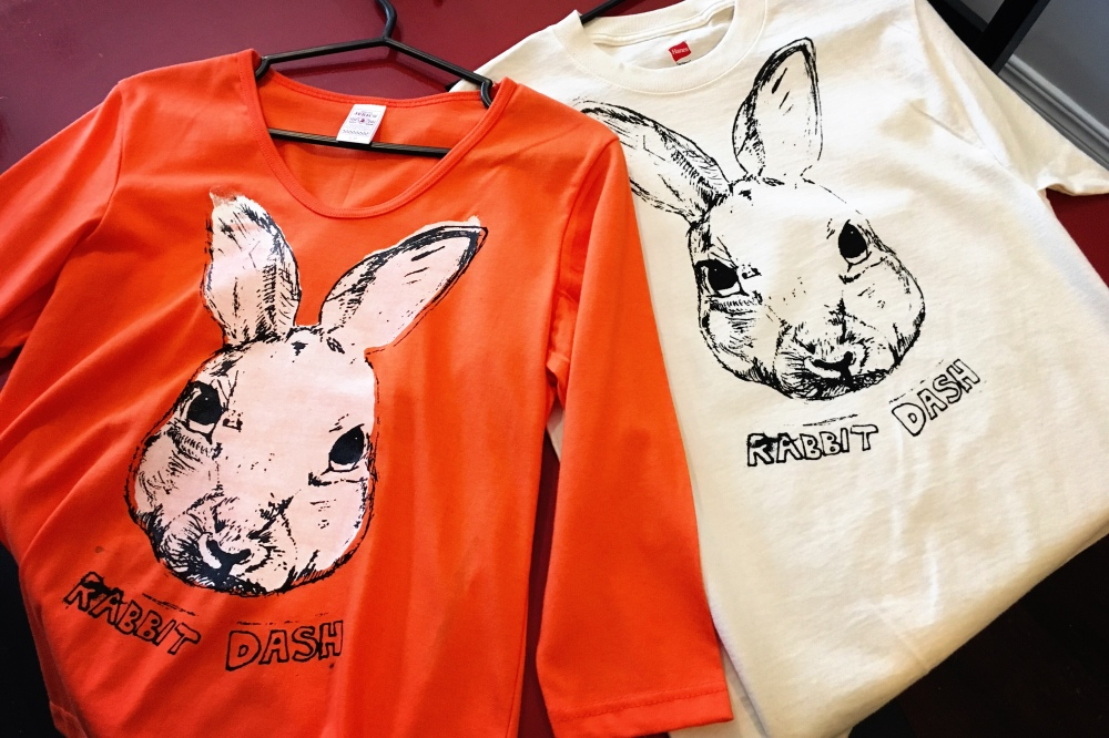 Grab some rabbit dash clothes