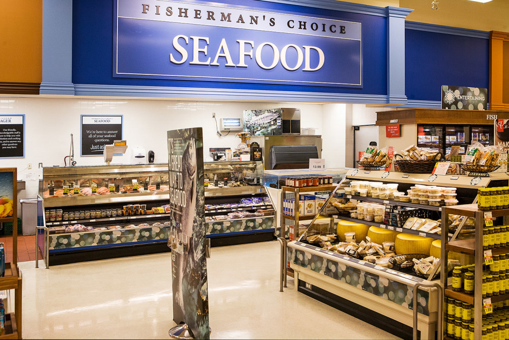 The areas best selection of Seafood