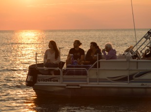 Sunset Tours in Lake Huron