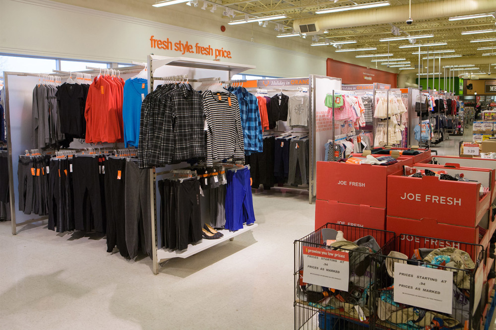 A huge selection of Joe Fresh clothing
