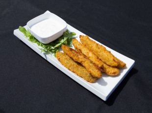 Breaded Pickles will get your tastebuds going!