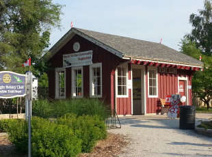 Replica Train Station