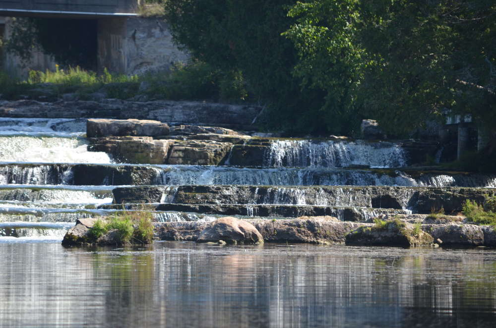 Tour the Sauble River to the Sauble Falls