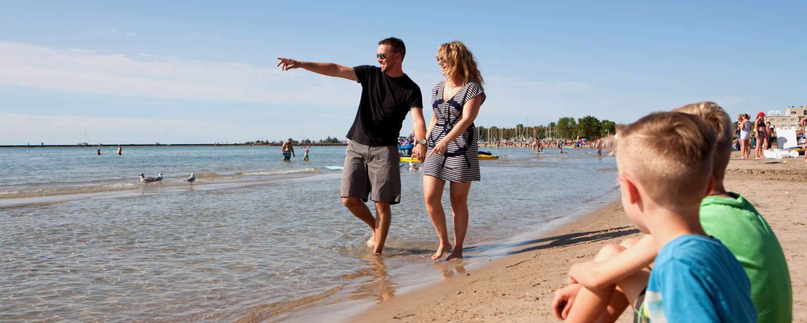 Port Elgin sandy beach