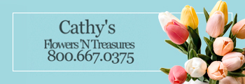 Cathy's Flowers banner