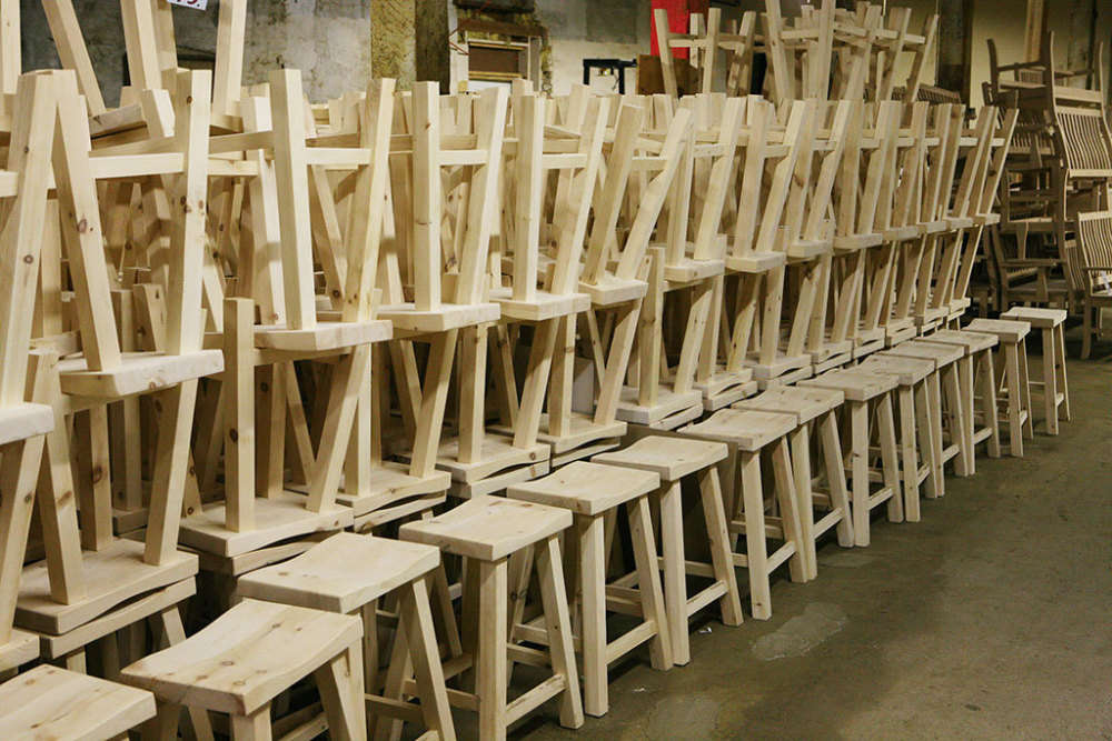 Huge Assortment of Solid Wood Stools